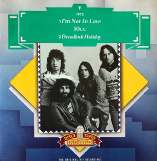 "10cc - I'm Not In Love/Dreadlock Holiday (7"") (EX-/EX-)"